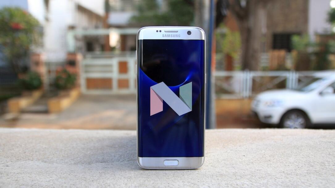 Android android 7.1.1 beta deutschland galaxy Google Nougat Samsung Update wann