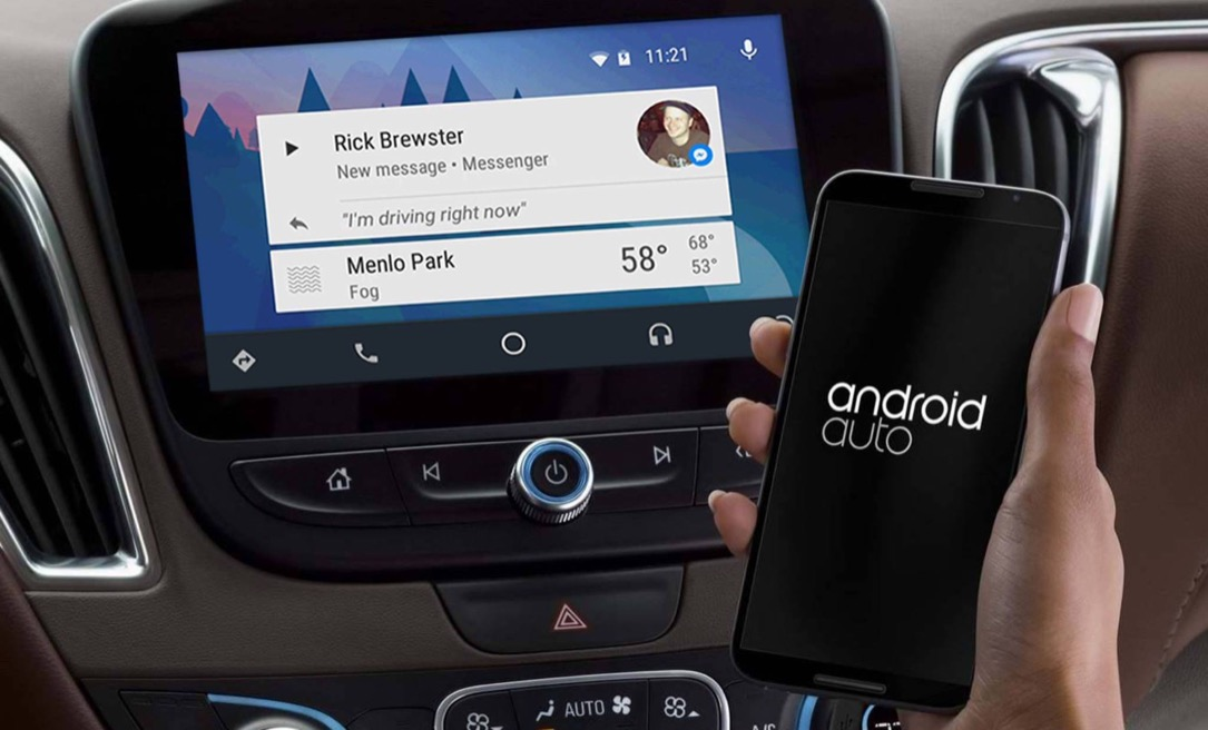 Android app auto facebook Messenger