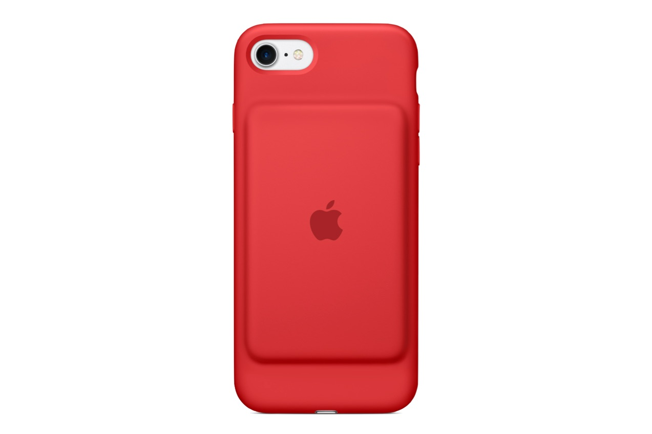 Apple battery case iOS RED rot smart