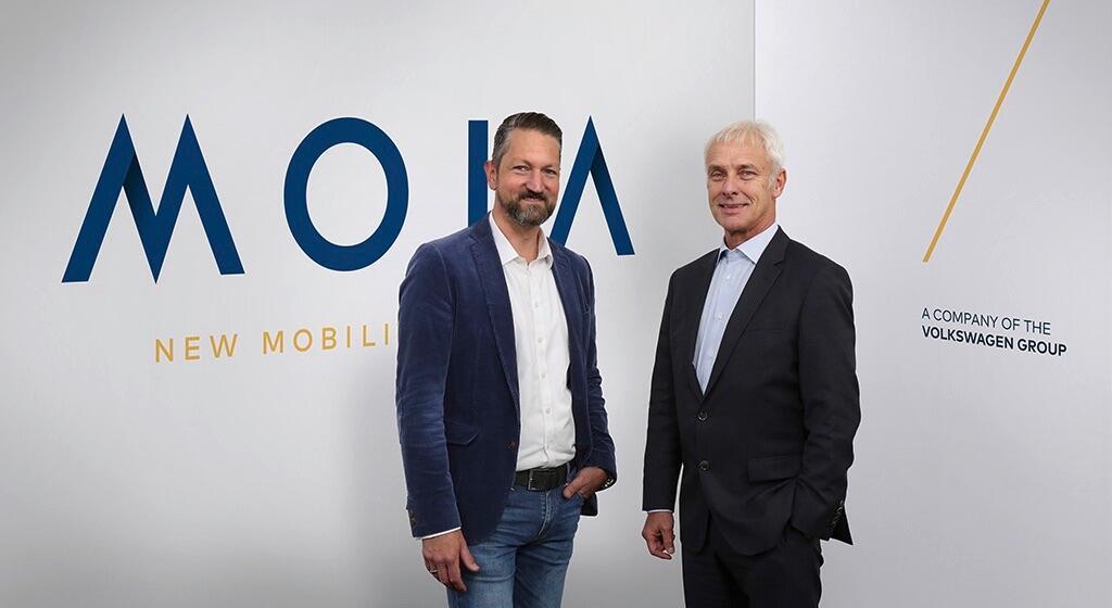 mobilitätsdienste moia volkswagen VW
