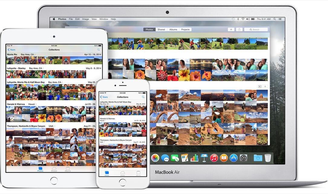 Apple Fotos icloud mac pictures