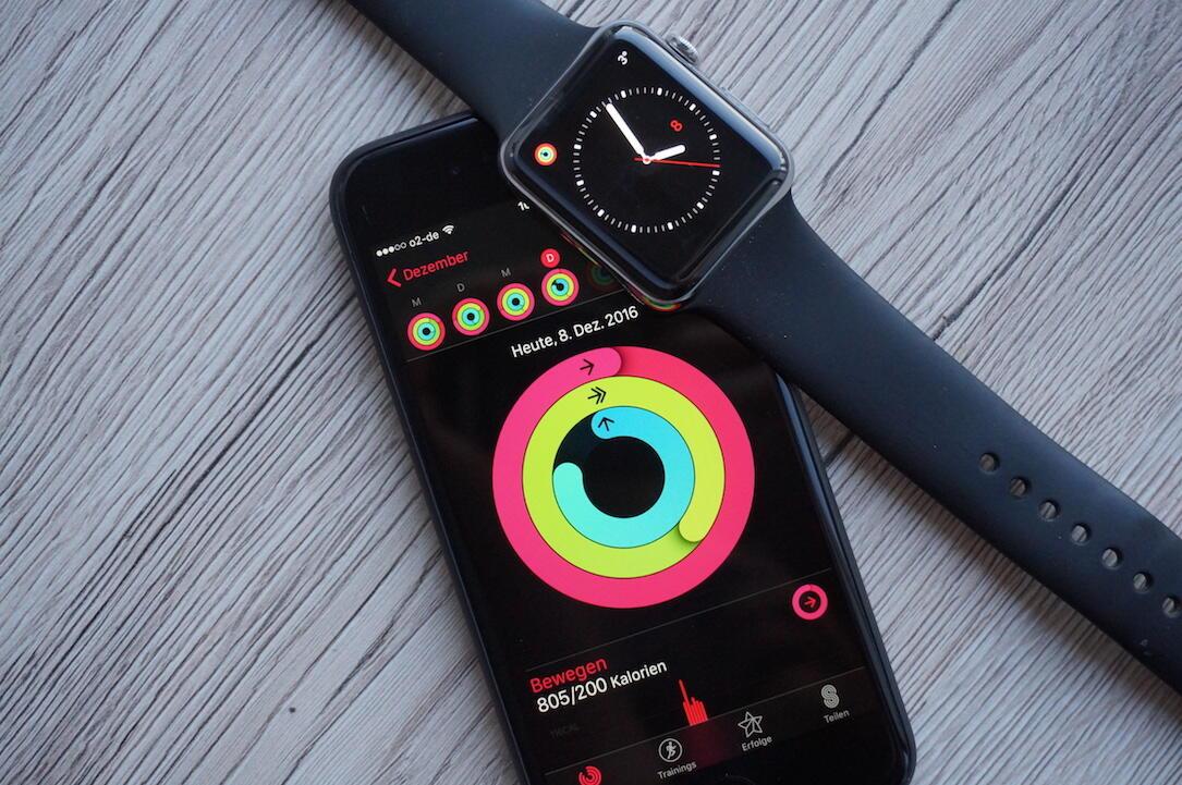 Apple Daten fitness iOS Sport watch