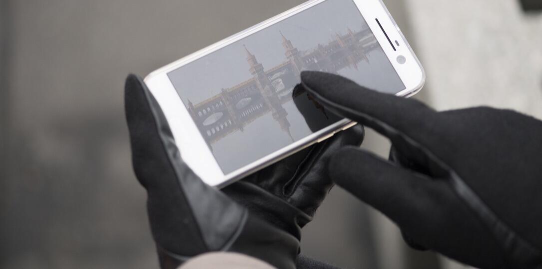 handschuh test touchscreen zubehör