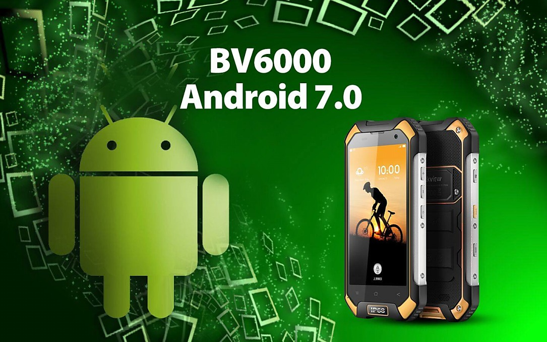 Android Android 7.0 Nougat Blackview BV6000 Update