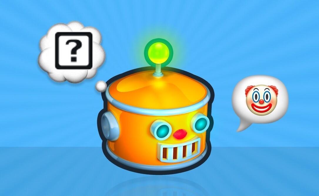 Android Apple botmoji box Emoji fragezeichen Google iOS übersetzen Windows
