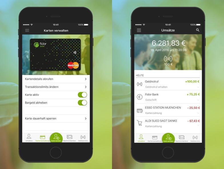 aff Android fidor fintech iOS Update