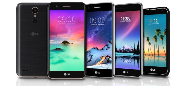 Android CES2017 LG LG K10 LG K3 LG K4 LG K8 LG Stylo 3