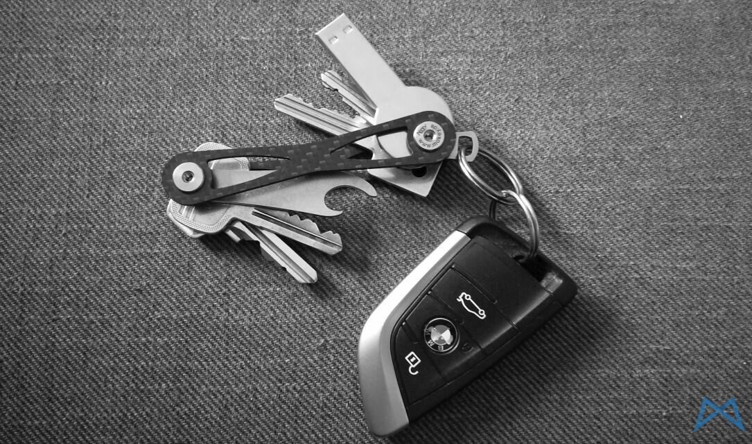 1 Gadget Mokey review Schlüsselorganizer test