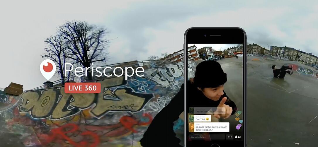 360 livestream periscope social