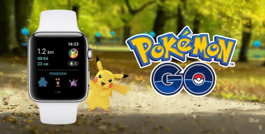 1 app Apple iOS pokemon pokemon go smartwatch Update watch