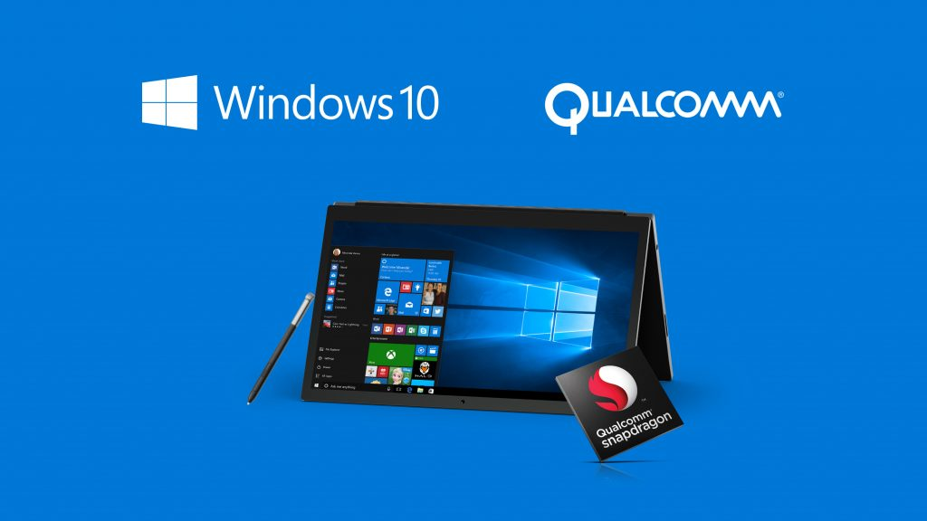 arm qualcomm Snapdragon Windows 10