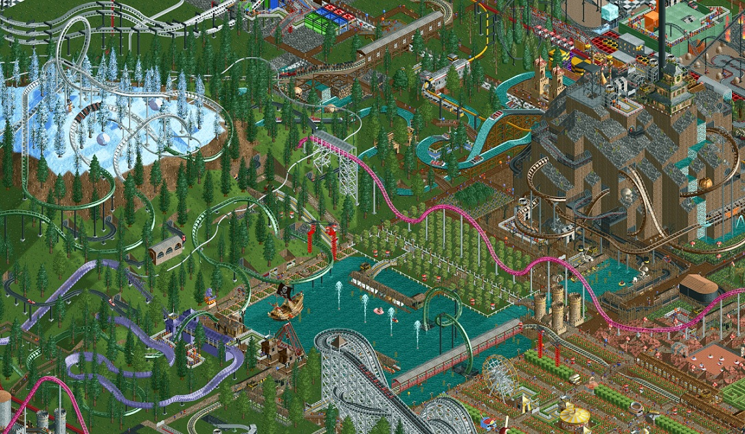 1 Android Apple atari games gaming iOS RollerCoaster Tycoon