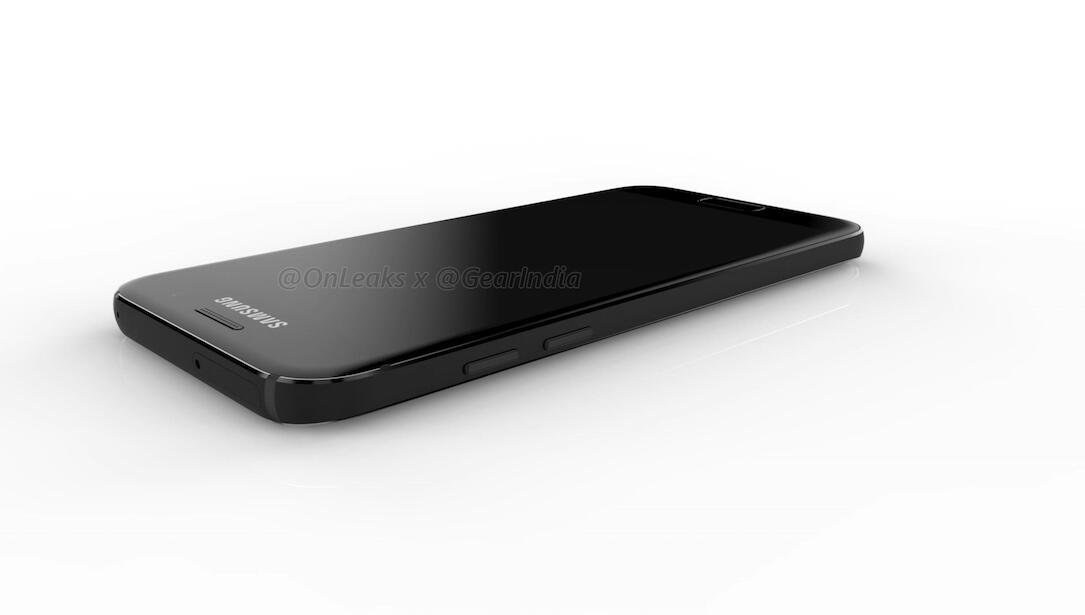 2017 a3 a5 galaxy Leak mockup render Samsung