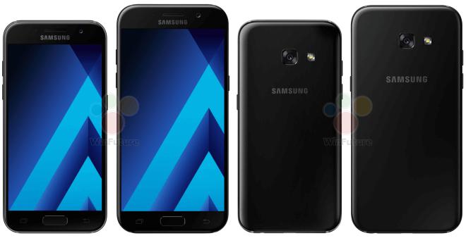 Android Galaxy A3 (2017) Galaxy A5 (2017) Samsung