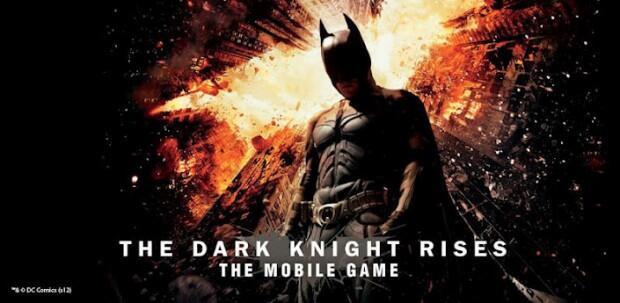app Apple batman games iOS the dark knight rises