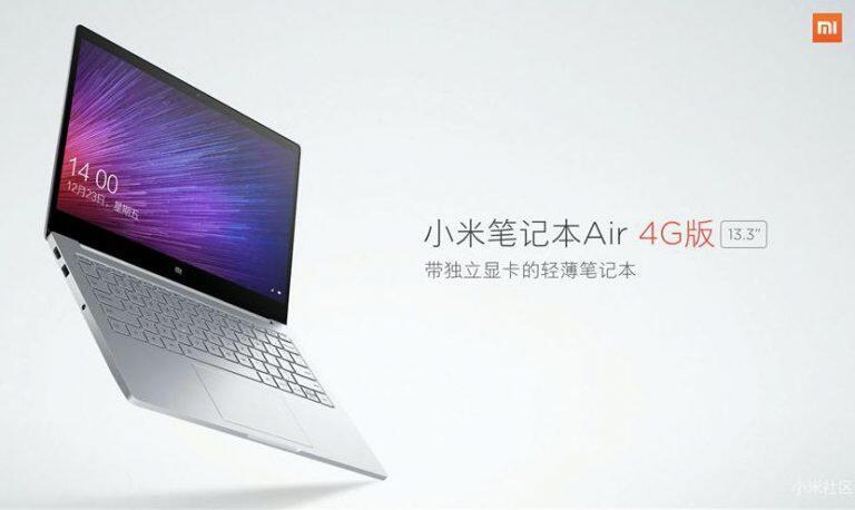 4G laptop LTE Mi Notebook Air Notebook xiaomi