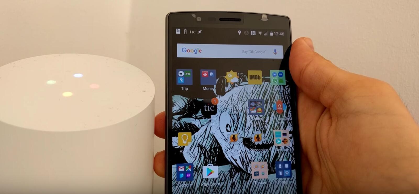 Android Autovoice Google Google Home Heimsteuerung tasker