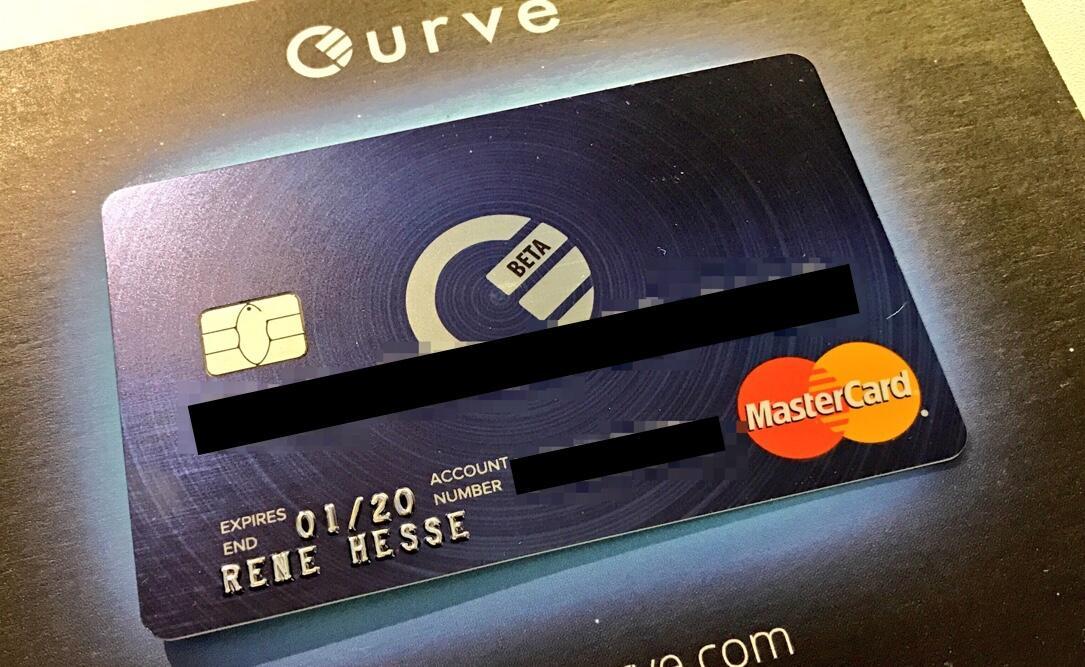 Android Apple cc curve fintech kk kreditkarte mastercard test