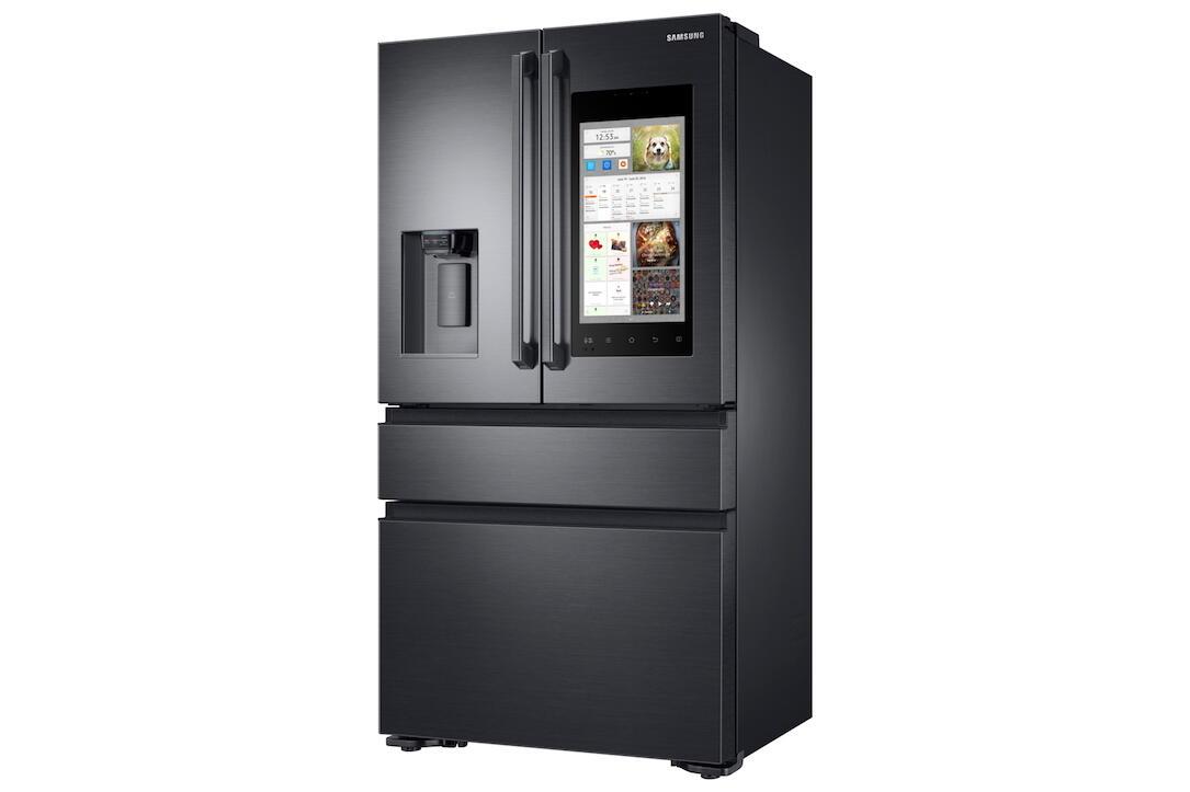 CES2017 family hub kühlschrank Samsung smart