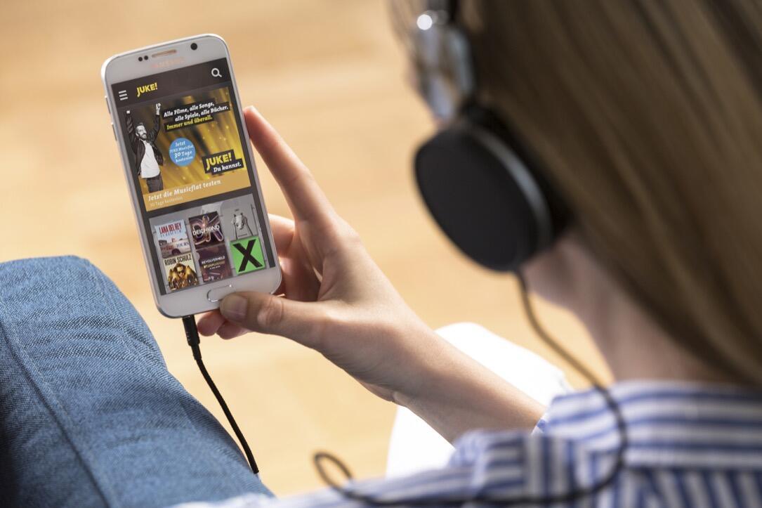 aff Audio juke Musik streaming TV
