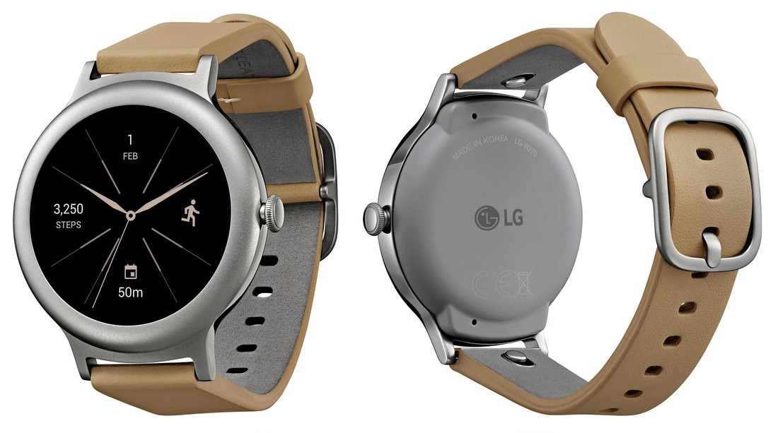 Android Google LG smartwatch style watch wear