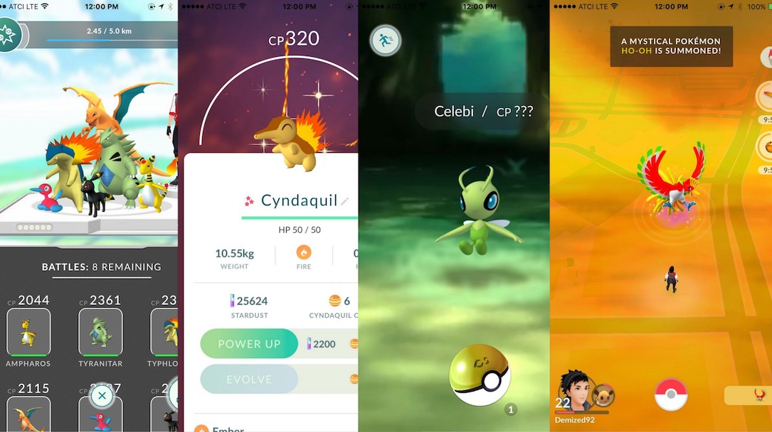 Android iOS Konzept niantic pokemon pokemon go version 2.0