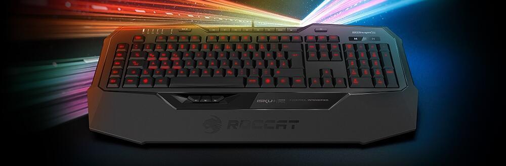 CES2017 Roccat Roccat Force FX Roccat Isku+ Tastatur