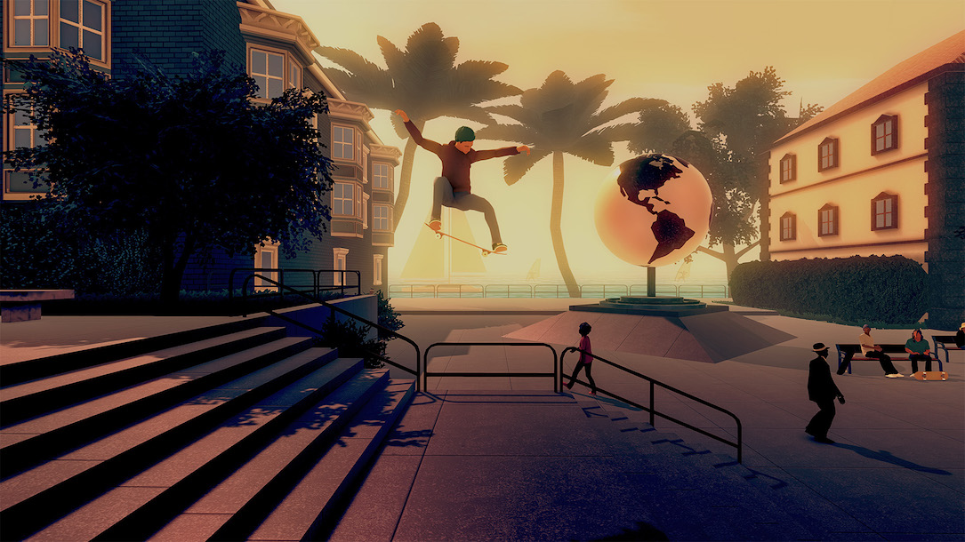 Android iOS skate city Spiel