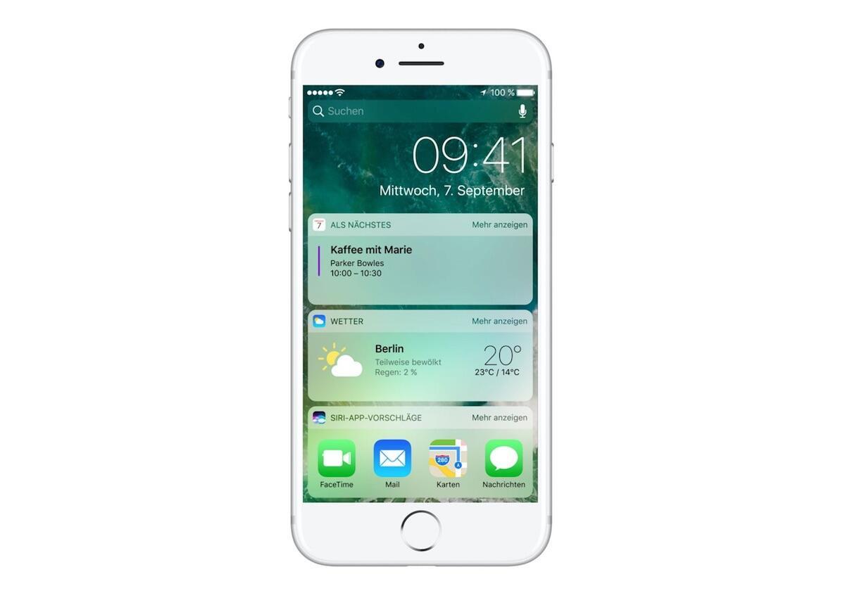 Apple einträge iOS iPad iphone Kalender keine einträge lösung problem widget
