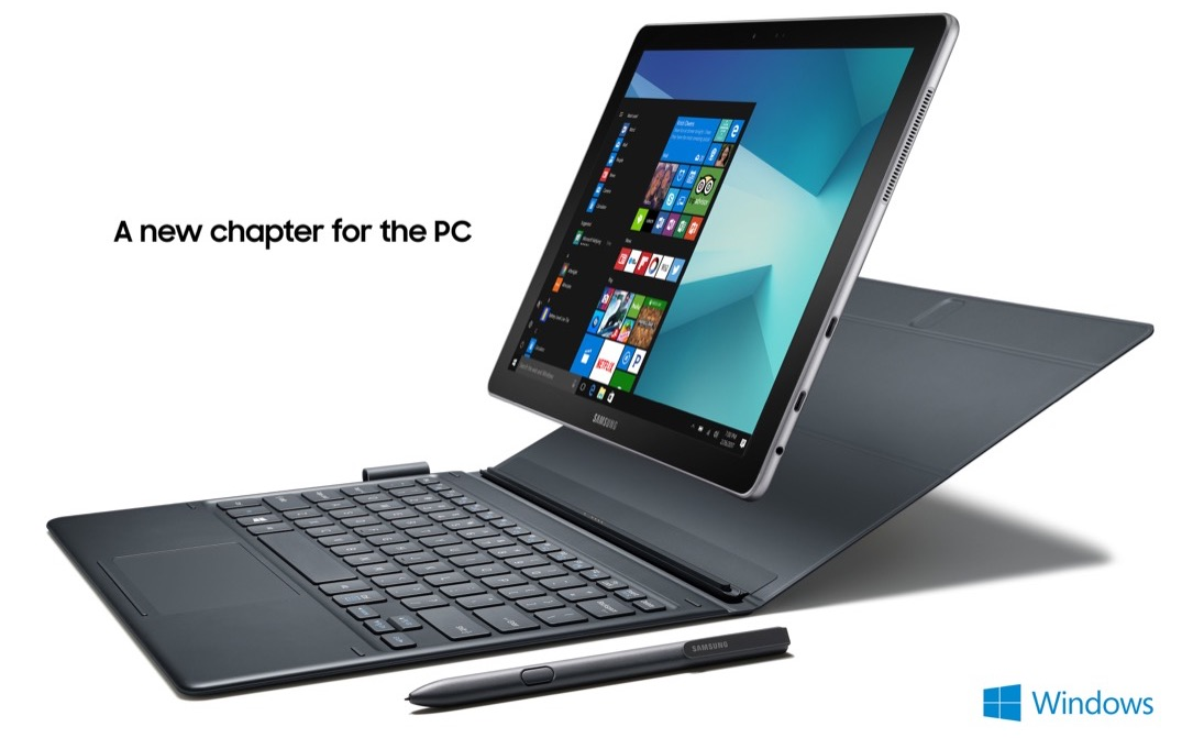 book galaxy galaxy book MWC2017 Notebook Samsung tablet Windows