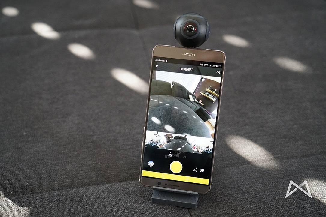 360-Grad-Kamera Android Insta360 Air Tiny Planet Virtual Reality vr