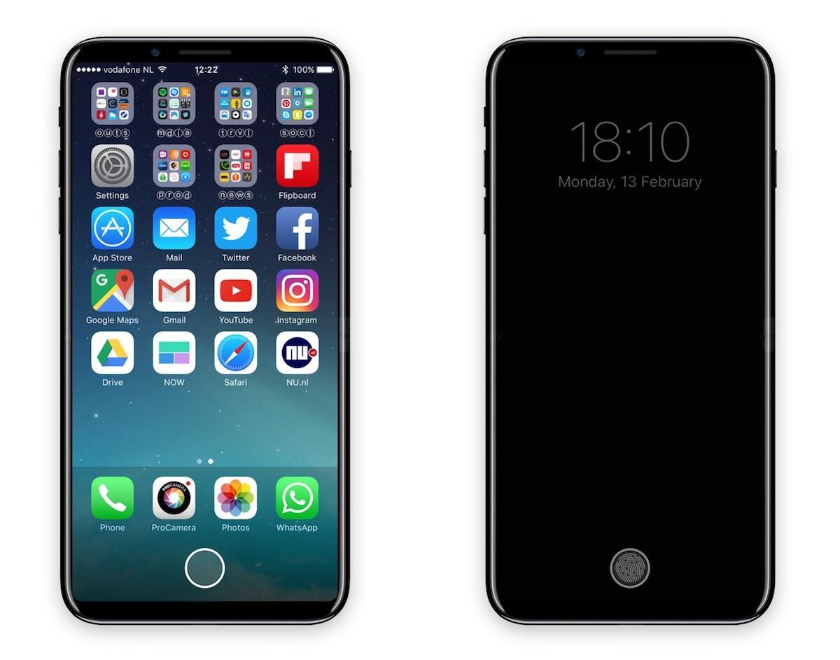 Apple iOS iphone iphone 8 Konzept Leak