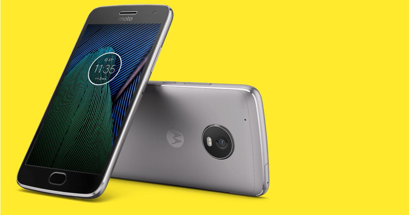 Android lenovo Moto G5 Plus