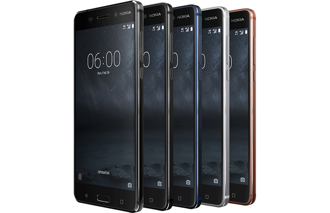 1 Android MWC2017 Nokia Nokia 3 Nokia 5 nokia 6 Smartphone Smartphones