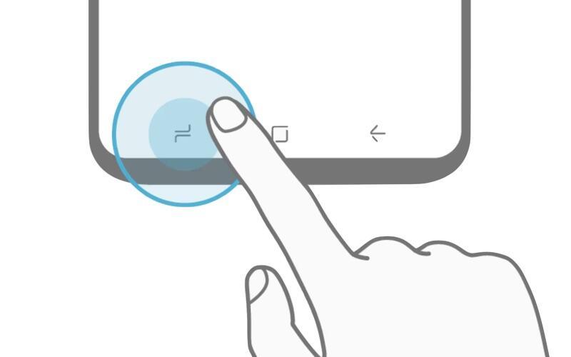 1 Android galaxy plus s8 Samsung touch tasten