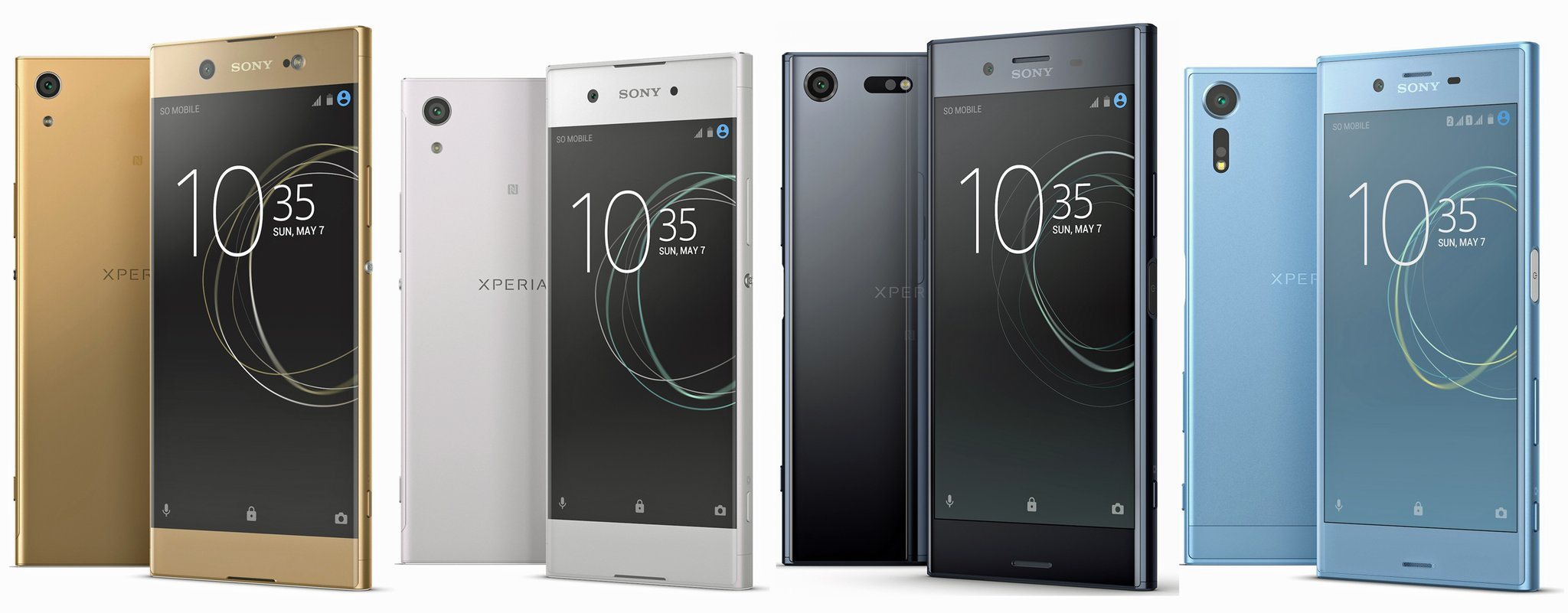 Android Leak MWC2017 Smartphone Sony