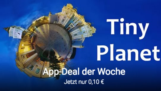 Android App-Deal deal Tiny Planet