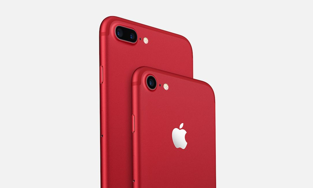 Apple iOS iphone product RED rot