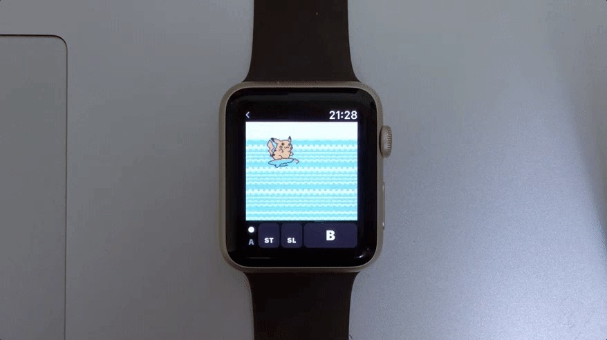Apple Emulator game boy giovanni smartwatch watch