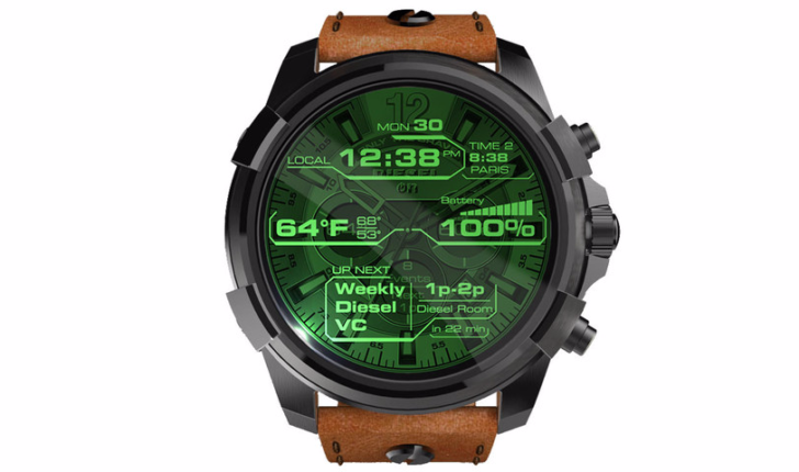 Android Android Wear diesel Diesel On smartwatch