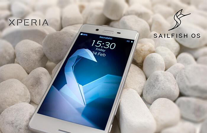 Android Jolla Sailfish OS Sony