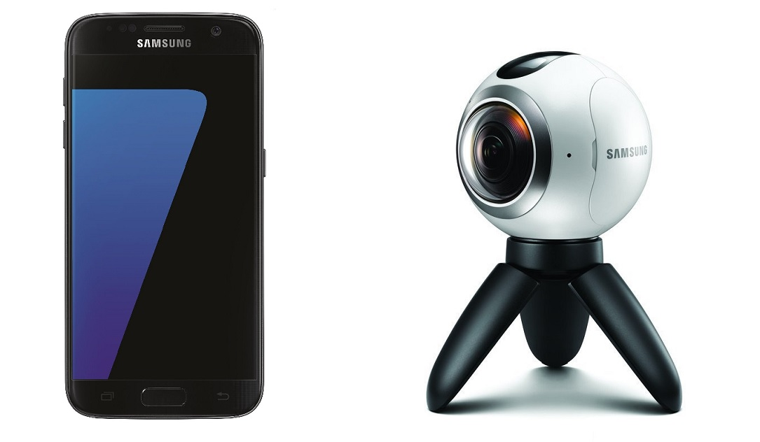 aff Android deal Galaxy S7 gear 360 Samsung