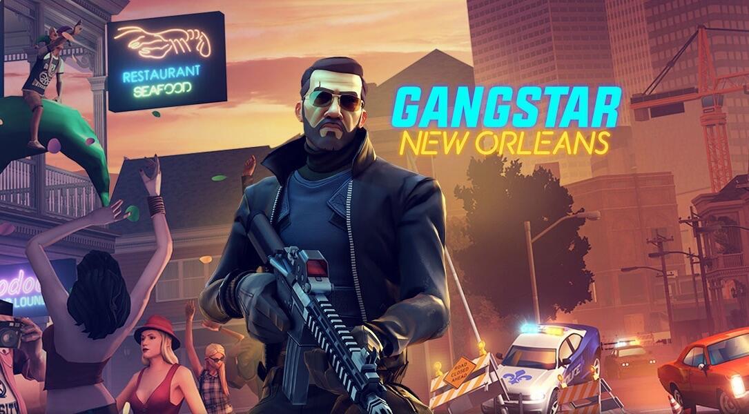 gangstar new orleans f r android und ios ver ffentlicht. Black Bedroom Furniture Sets. Home Design Ideas