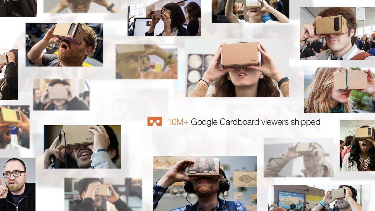 10 millionen aff Android Cardboard Google iOS vr