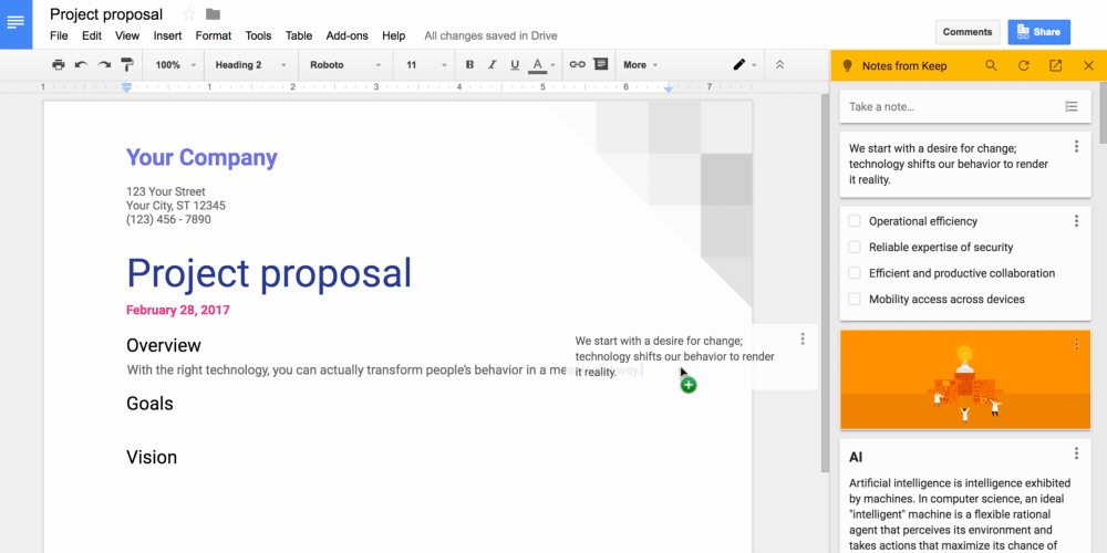 Google Google Docs Google Keep