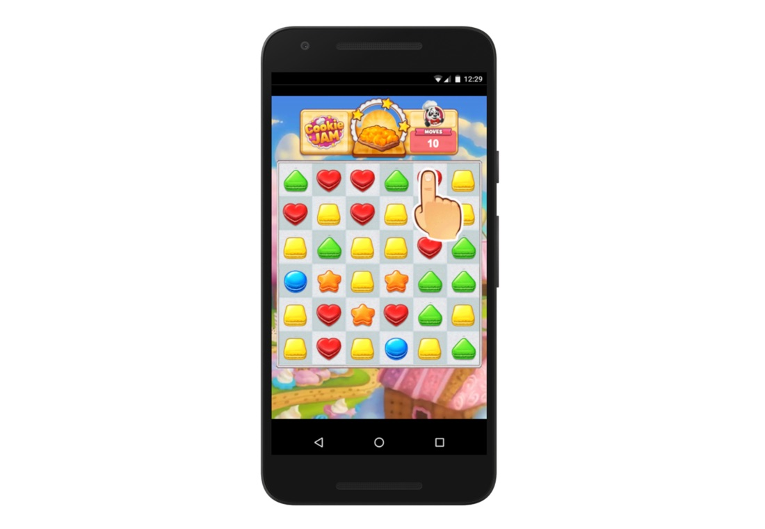 Android demo gdc Google playables Spiele