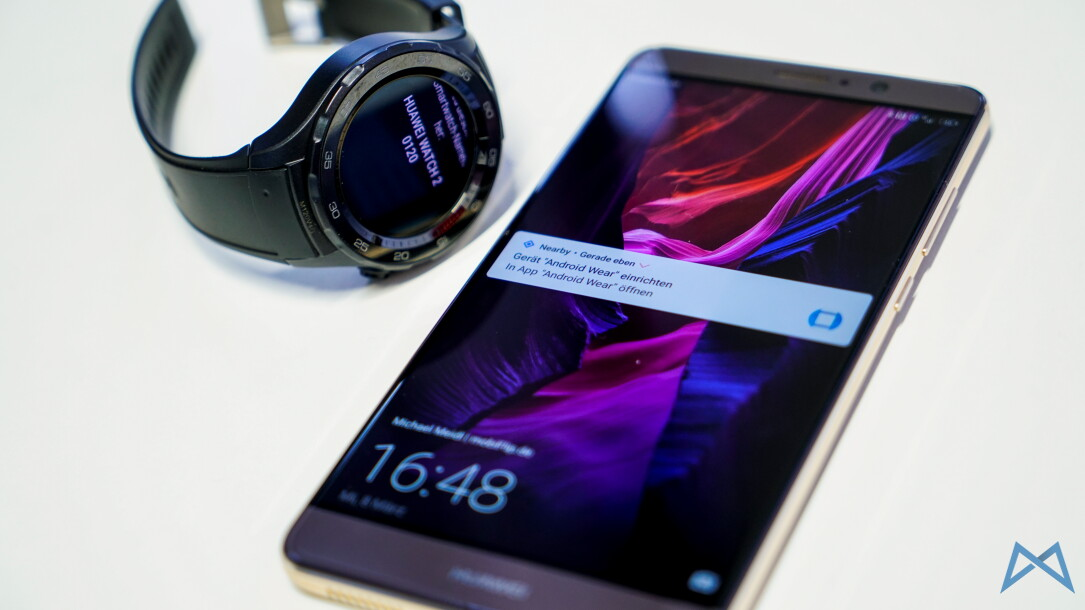 1 Android hands on Huawei Sport watch 2 wear
