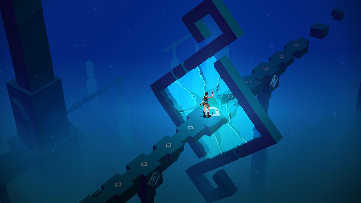 Android go iOS Lara Croft Mirror Of Spirits Update