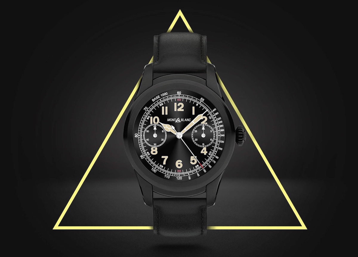 Android Montblanc smartwatch wear