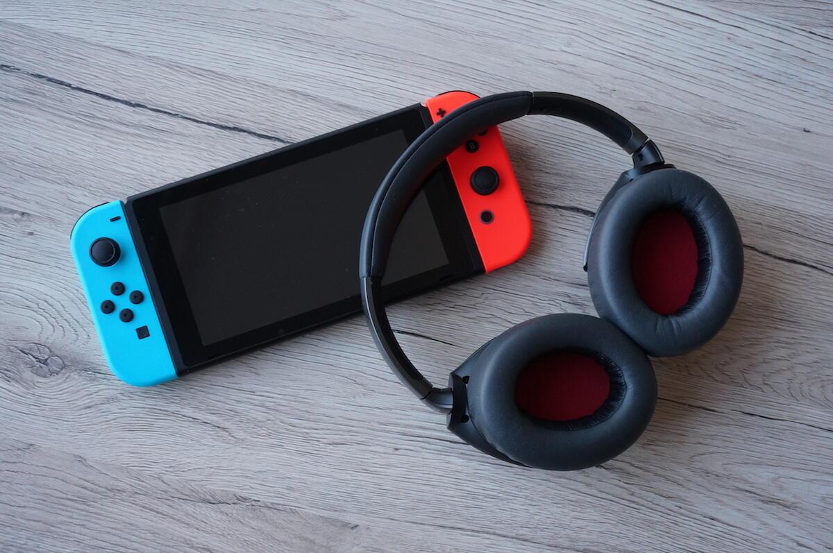aff Bluetooth Headset kabellos kopfhörer Nintendo Switch Update